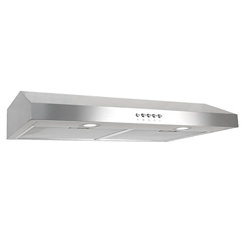 The Cosmo Under Cabinet Range Hood Is Absolutely Perfect If You Donu0027t Have  Too Much Space To Spare In Your Kitchen. The Slim Profile Of The Cosmo Was  ...