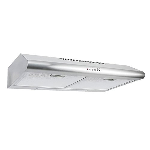 If You Donu0027t Have A Lot Of Space In Your Kitchen, But You Want A Range Hood,  Then The Cosmo Under Cabinet Range Hood Is For You. The Slim Profile Design  Of ...