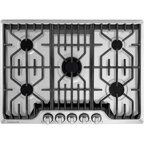 Electrolux Frigidaire Professional Fpgc3077rs 30 Gas Cooktop In Stainless Steel