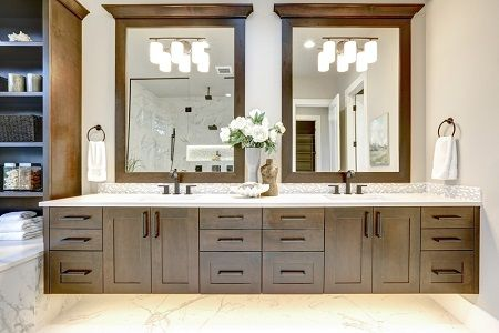 Painting Bathroom Cabinets Color Ideas