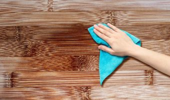 how to get grease out of wood floor